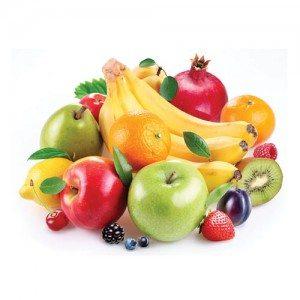 pola makan sehat buah