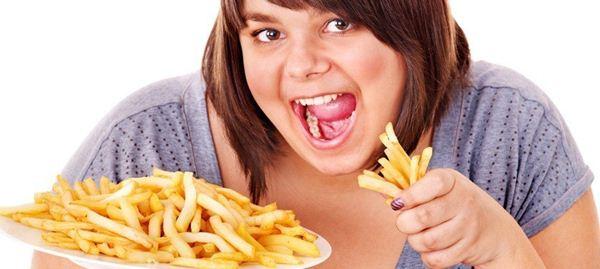 Konsumsi makanan berlemak dan berkalori tinggi