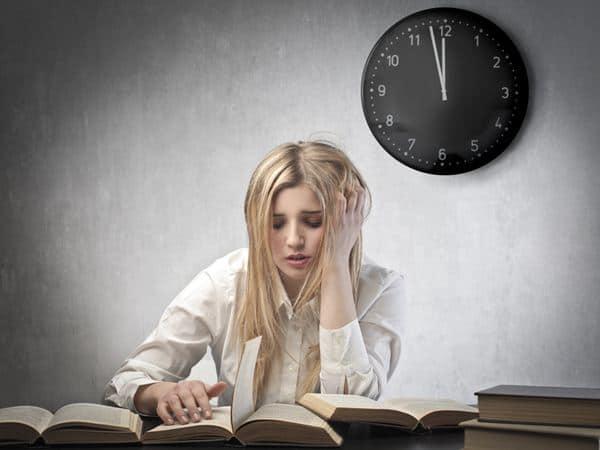 Kurang istirahat atau sering begadang