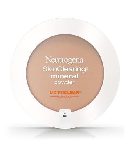 merk bedak untuk kulit berjerawat Neutrogena Skin Clearing Mineral Powder