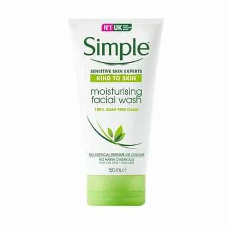 SimpleKind to Skin Moisturising Face Wash