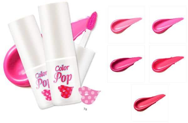 Etude House Color Pop Shine Tint merk lip tint yang bagus