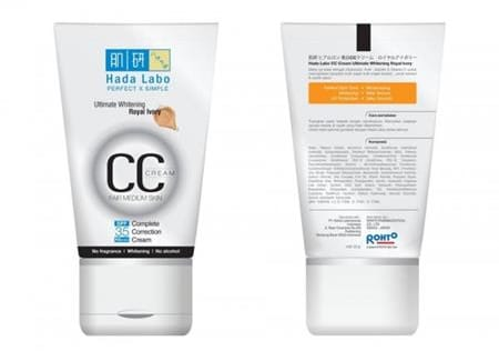 Hada Labo CC Cream Ultimate Whitening merk cc cream yang bagus