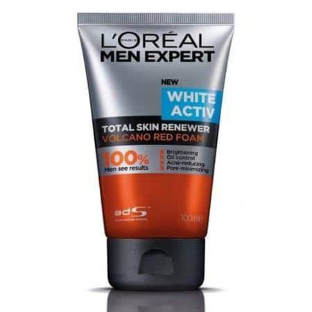 L'Oreal Men Expert White Active Red Volcano Foam