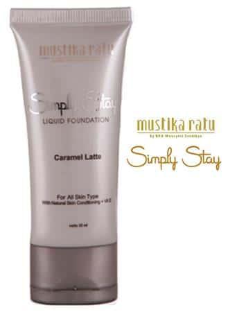 Mustika Ratu Simply Stay Liquid Foundation