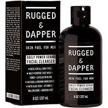 Rugged & Dapper Daily Facial Scrub For Men