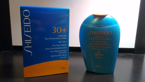 Shiseido Gentle Sun Protection Lotion SPF 30