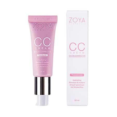 Zoya Cosmetics CC Cream Translucent