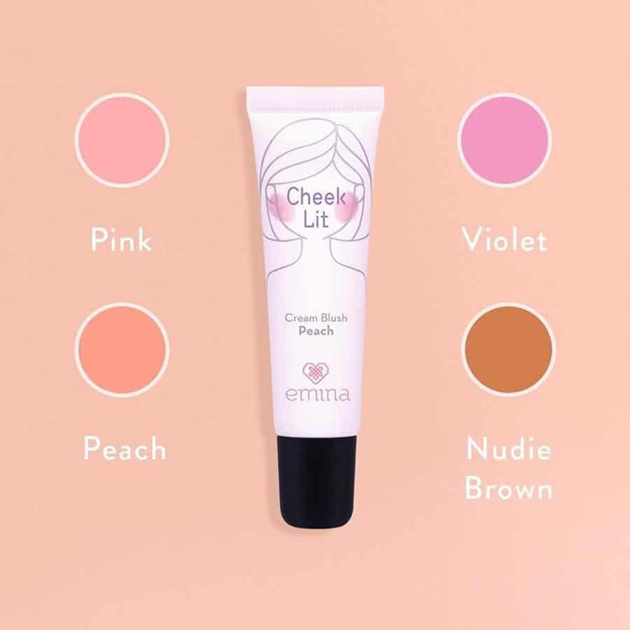 merk blush on yang bagus_Emina Cheeklit Cream Blush (Copy)