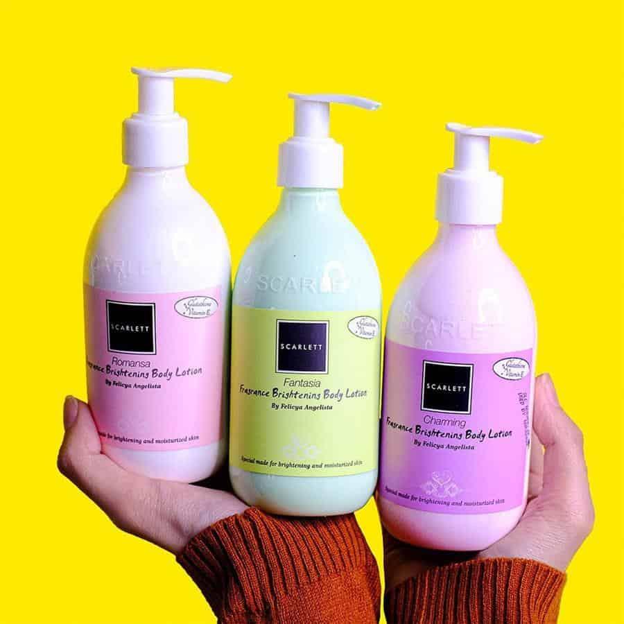 merk body lotion yang bagus_Scarlett Fragrance Brightening Body Lotion (Copy)
