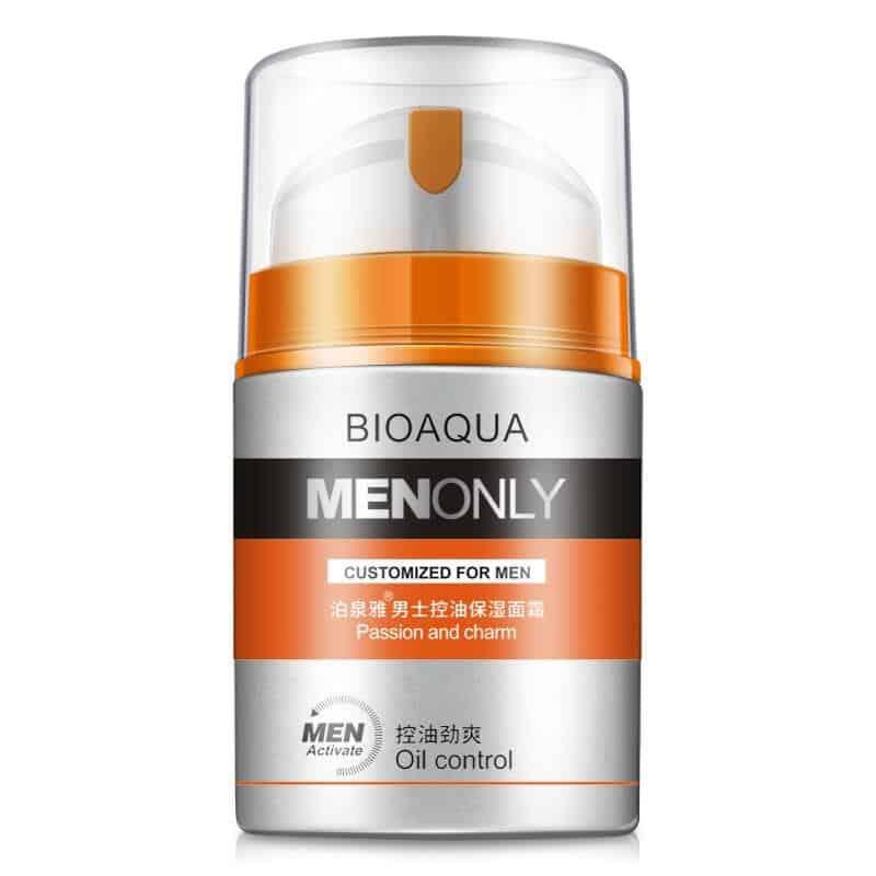 merk pelembab wajah pria_Bioaqua Men Only Passion and Charm Oil Control Moisturizer Cream