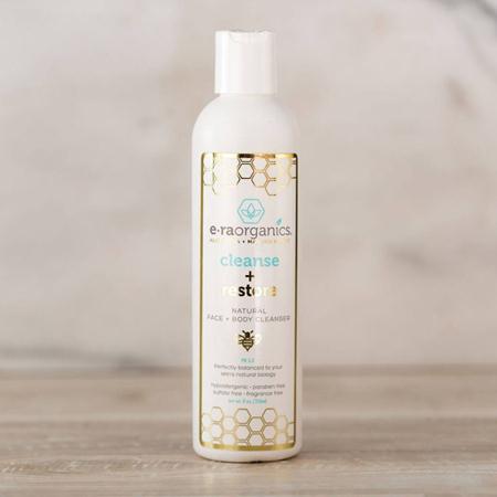 Era Organics Cleanse + Restore Natural Face and Body Wash