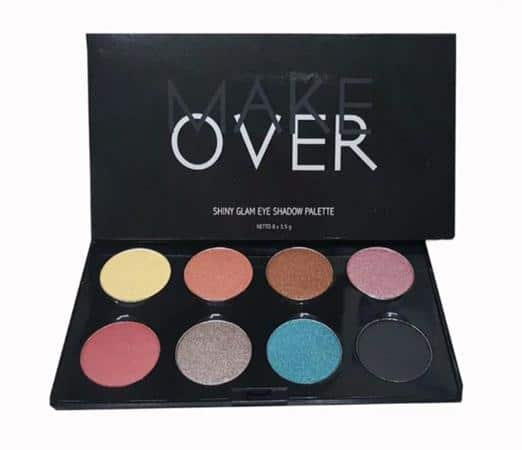 Make Over Shiny Glam Eye Shadow Palette
