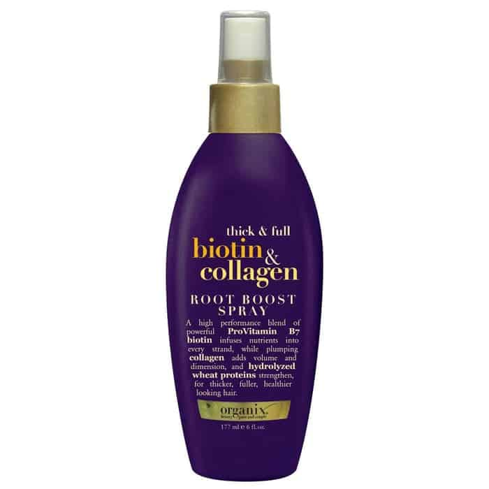 OGX Root Boost Spray Thick & Full Biotin & Collagen