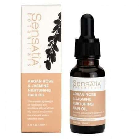 Sensasia Botanica Argan Rose & Jasmine Nurturing Hair Oil