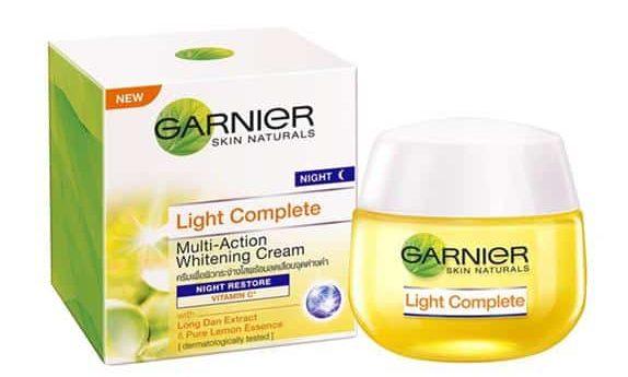 Garnier Light Complete Multi Action Whitening Cream Night Restore