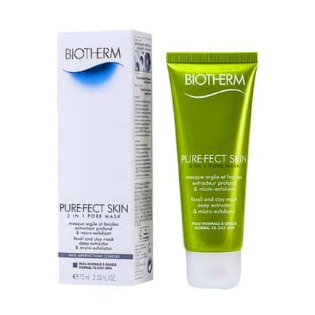 Biotherm PureFect Skin 2 in 1 Pore Mask Normal to Oily Skin