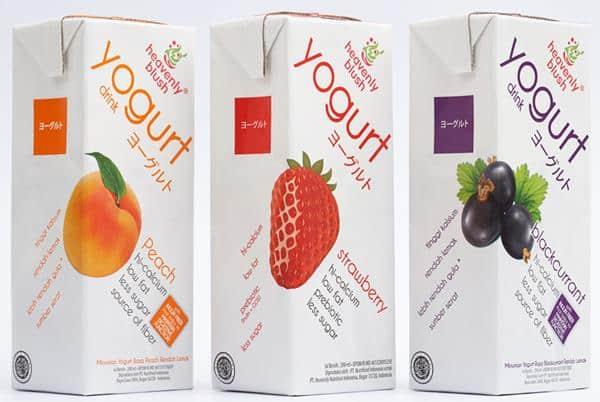 Heavenly Blush Yogurt merk yoghurt untuk diet