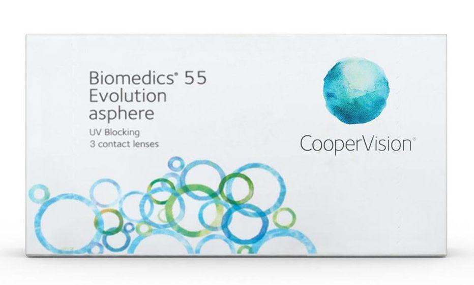 Merk Softlens yang Bagus_2. Biomedics Evolution Asphere (Copy)