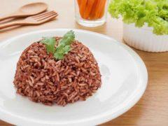 nasi merah menu buka puasa untuk diet