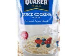 merk oatmeal untuk diet_Quaker Quick Cooking Oatmeal (Copy)