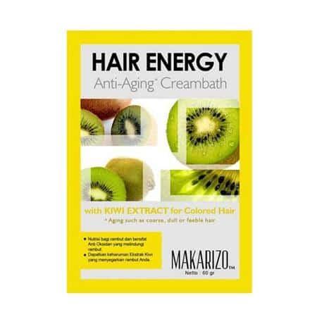 Makarizo Hair Energy Anti Aging Creambath