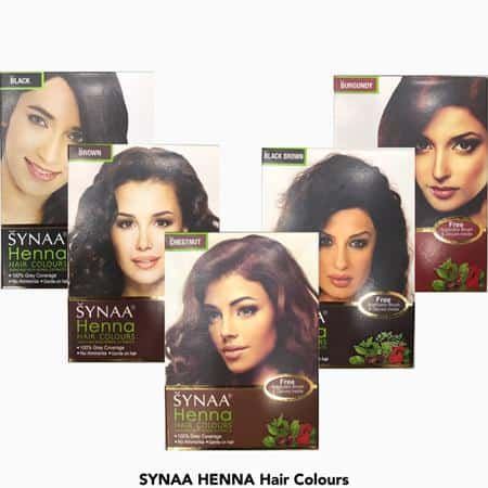Synaa Henna Hair Colours