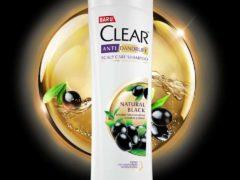 CLEAR Natural Black Shampoo