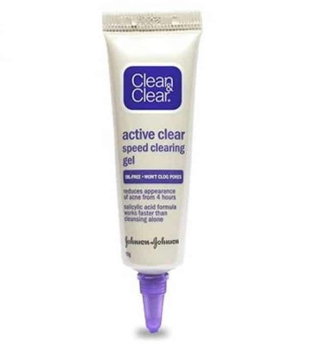 krim penghilang jerawat_Clean & Clear Active Clear Acne Speed Clearing Gel (Copy)