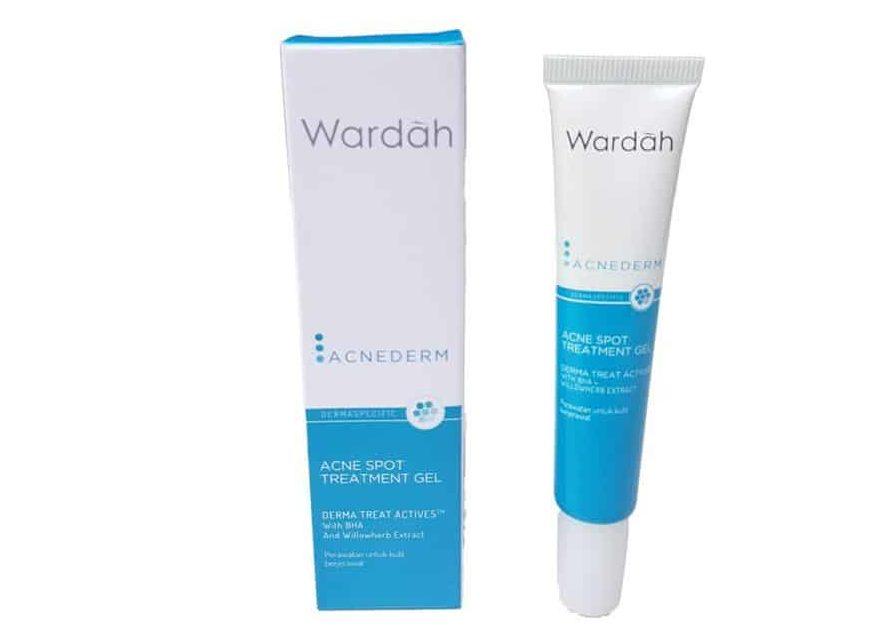 krim penghilang jerawat_Wardah Acnederm Acne Spot Treatment Gel (Copy)