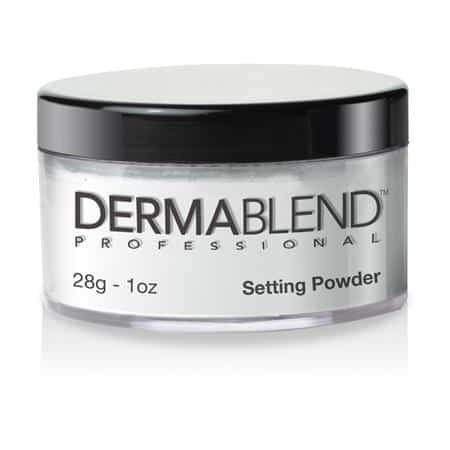 merk bedak tabur untuk kulit berjerawat DERMABLEND Loose Setting Powder