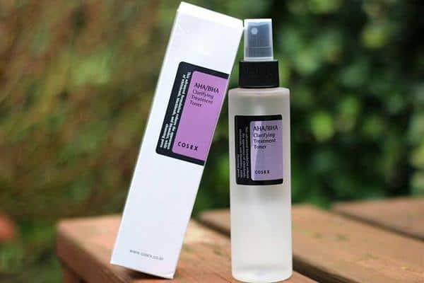 merk toner untuk kulit berjerawat COSRX AHA/BHA Clarifying Treatment Toner