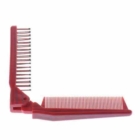 Anti-static Triple Folding comb
