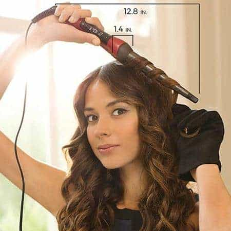 Merk Catok Curly yang Bagus Remington Curling Wand with Silk Ceramic Advanced Technology