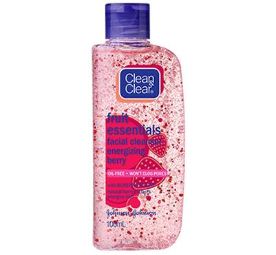 Clean & Clear Facial Cleanser Energizing Berry