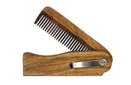 Dittmar Sheesham Wood Folding Comb