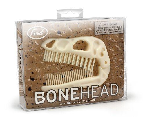Fred & Friends Bonehead Folding Brush & Comb