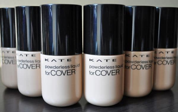 KATE Powderless Liquid for Cover foundation