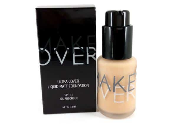 Make Over Ultra Cover Liquid Matt Foundation SPF 31