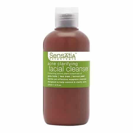Sensatia Botanicals Natural Facial Cleanser Acne Clarifying