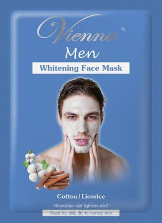 Vienna Men Whitening Face Mask Cotton & Licorice