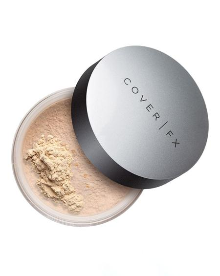 merk bedak tabur untuk kulit berjerawat COVER FXPerfect Setting Powder