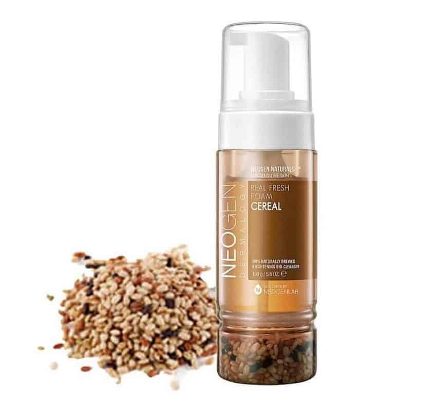 merk sabun untuk kulit sensitif_Neogen Dermalogy Real Fresh Foam Cleanser Cereal (Copy)