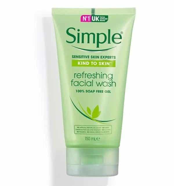merk sabun untuk kulit sensitif_Simple Kind to Skin Refreshing Facial Wash Gel (Copy)