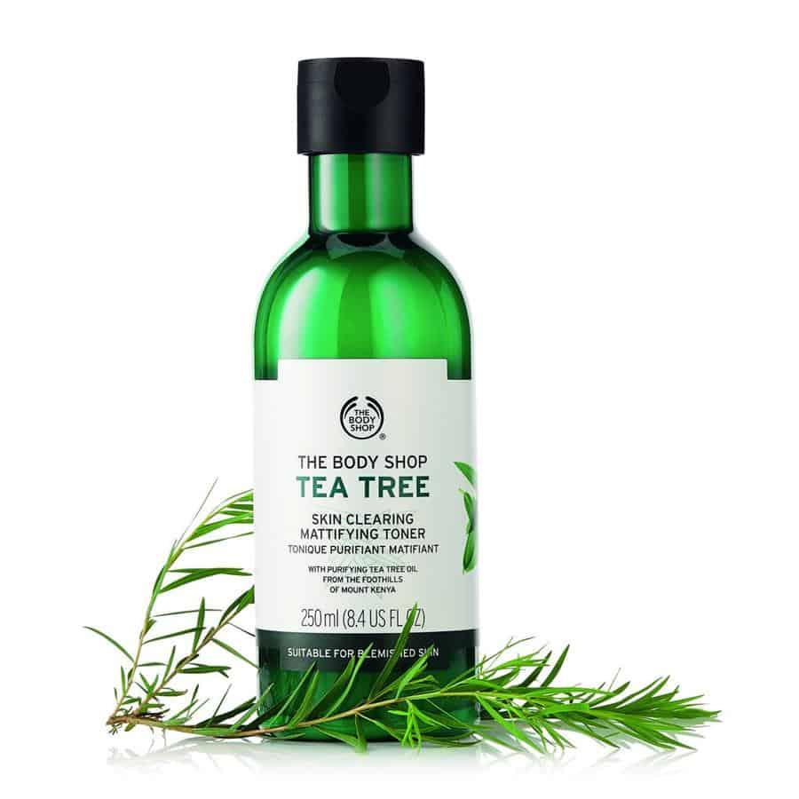 merk toner untuk wajah berminyakThe Body Shop Tea Tree Skin Clearing Mattifying Toner