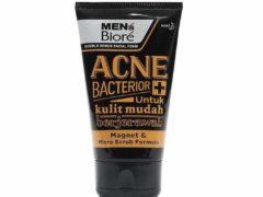 pembersih wajah untuk pria_Biore Men Facial Foam Anti Bacterior (Copy)