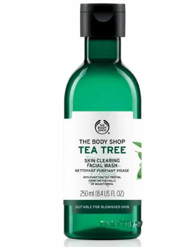 pembersih wajah untuk pria_The Body Shop Tea Tree Skin Clearing Facial Wash (Copy)