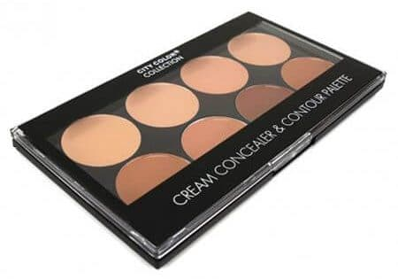 City Color Cream Concealer and Contour Eyeshadow Palette