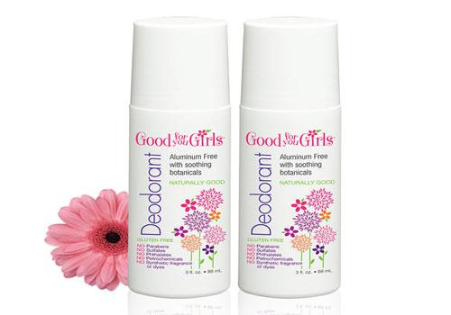 Good for You Girls All Natural Aluminium Free Deodorant
