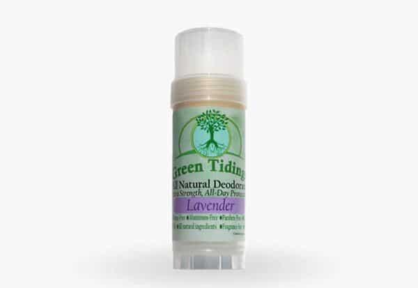 Green Tidings Organic All Natural Deodorant Lavender
